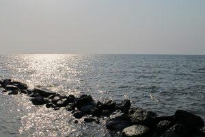 Une vue sur la mer